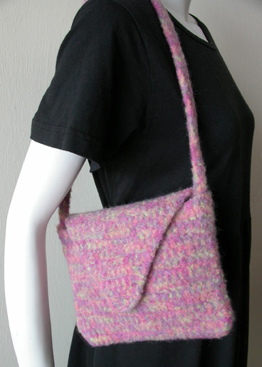 Crochet Pattern Felted Bag