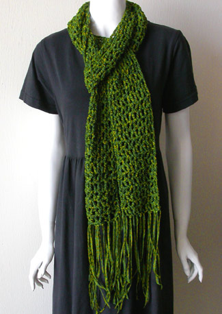 The Sunroom: Ripple Wave Scarf - Crochet