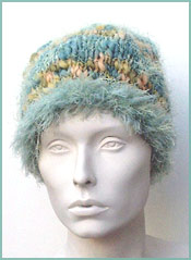 Fabulous Eyelash Roll Brim Hat